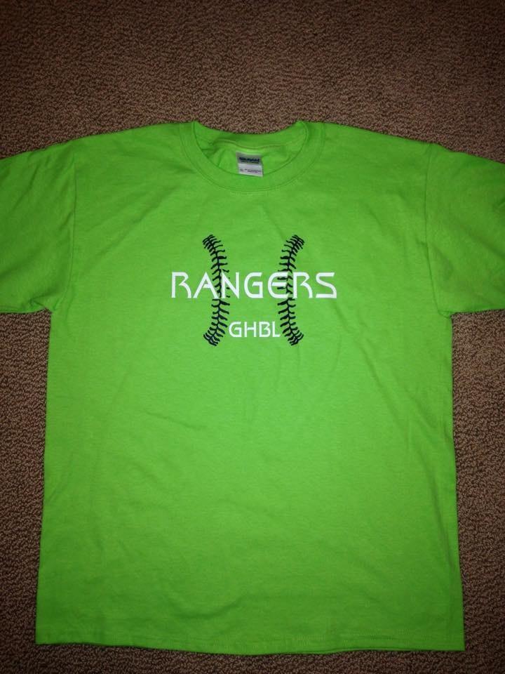 Rangers  8yo Baseball Program