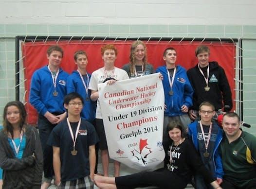 ice hockey fundraising - Calgary Underwater Hockey Tournaments