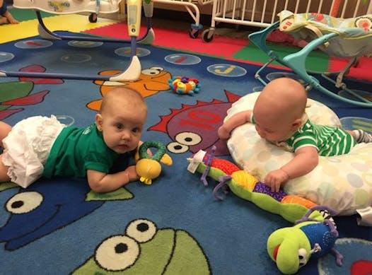 daycare & nurseries fundraising - Babyland Wreath Fundraiser