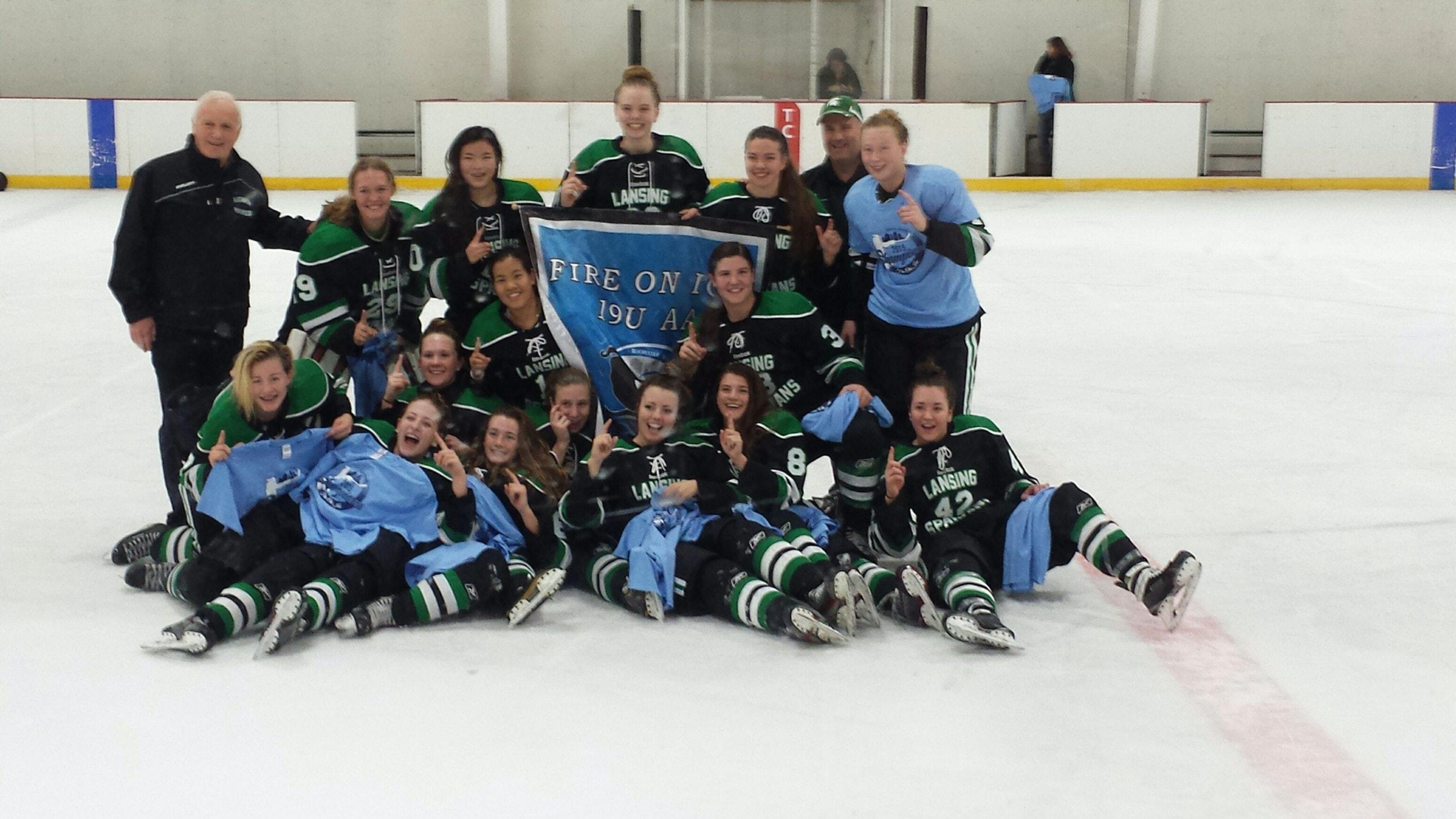 19u Lansing Spartans AAA Girls Hockey