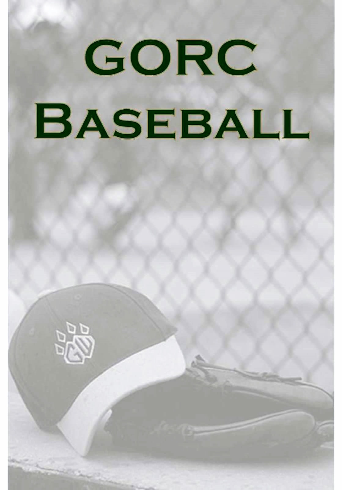 GORC 9U Baseball