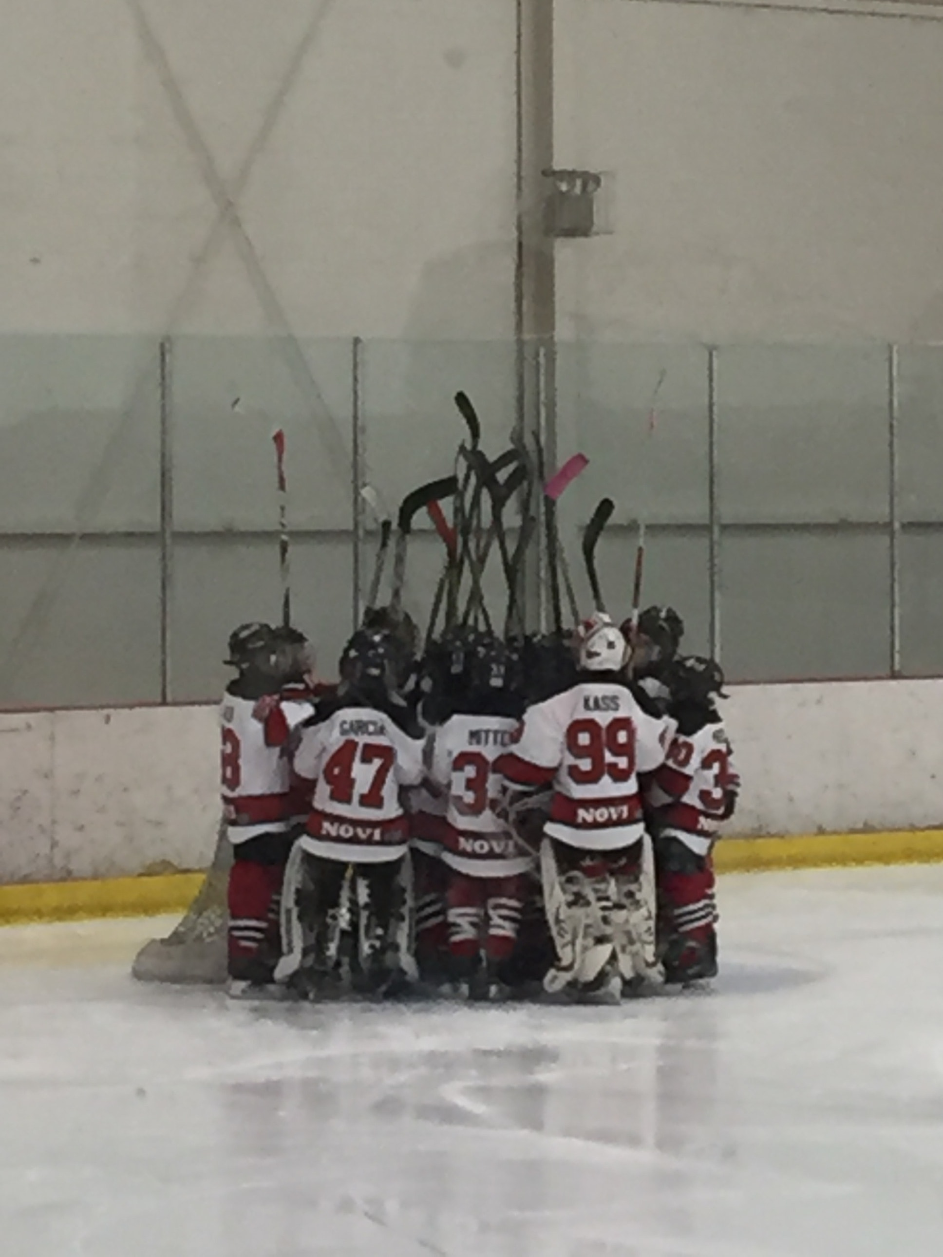 05 Novi FireCats Hockey Team