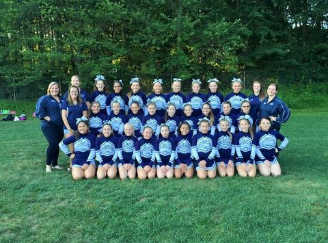 BVPW Patriots Cheerleaders going to Nationals