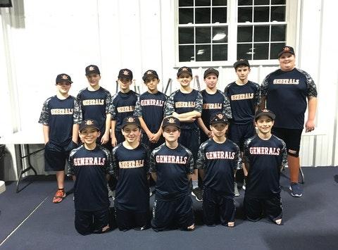 12U Hudson Valley  Field Generals - Cooperstown Fundraising