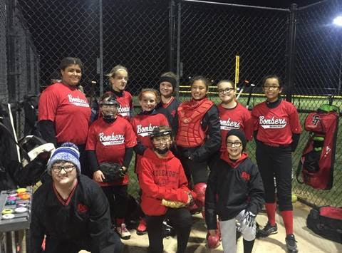 Bridgeport Bombers Softball team