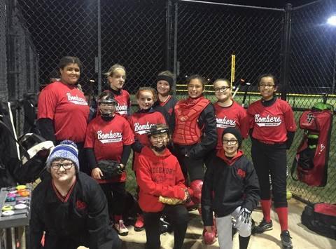 Bridgeport Bombers Softball team