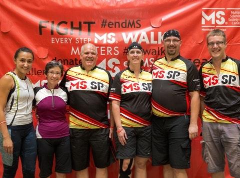 MS Bike: Team Maximus Sorebutticus