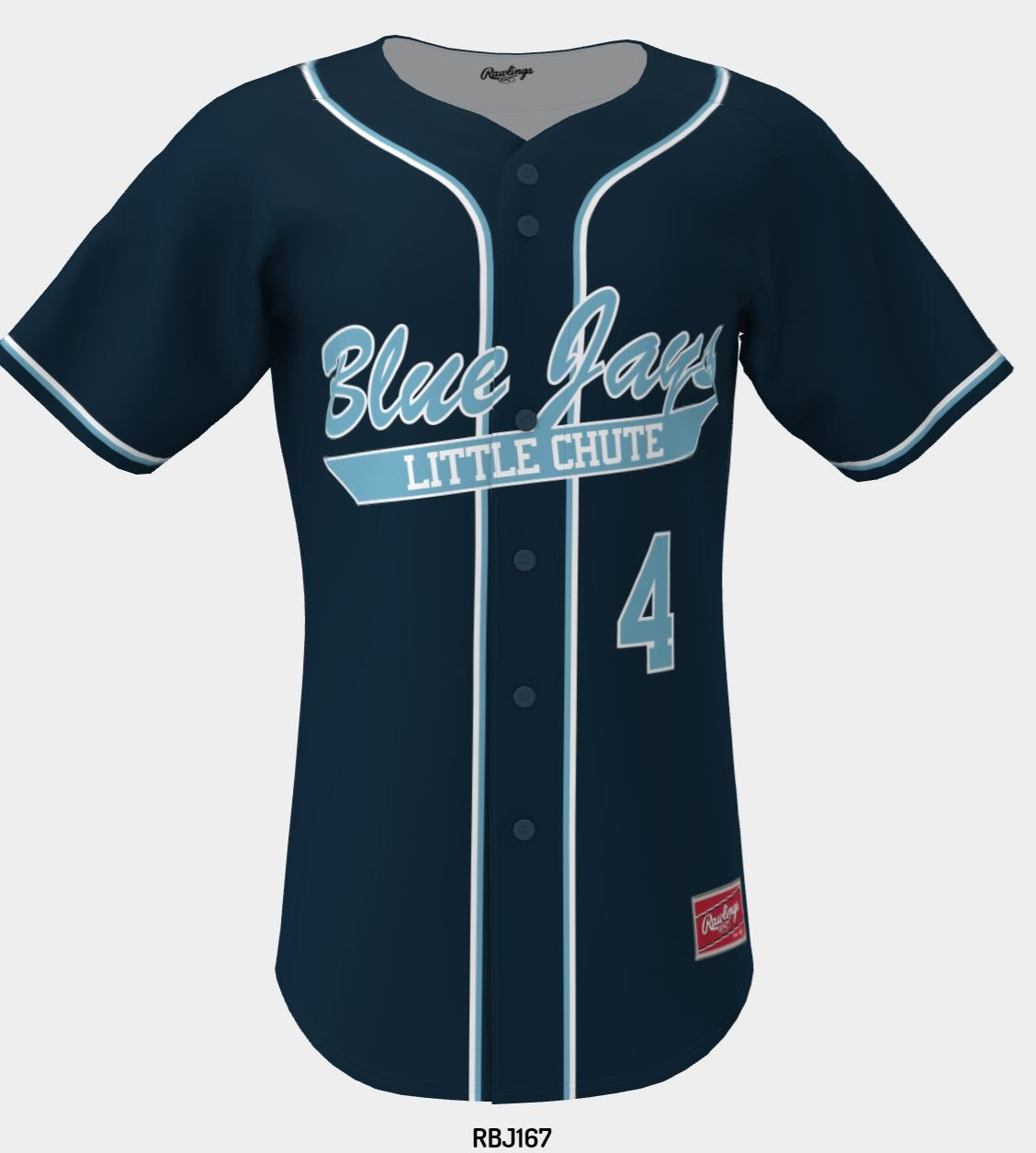 Little Chute Blue Jays New Uniforms