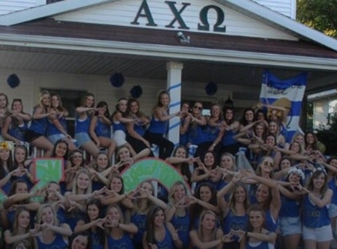 fraternities & sororities fundraising - Alpha Chi Omega - Delta Zeta Chapter