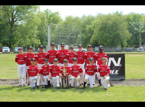 12U Wallingford Cardinals Myrtle Beach Team