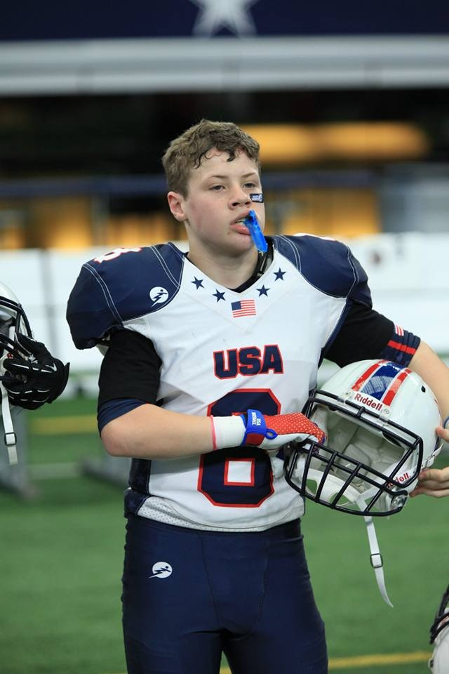 Hunter Hargrave USA Football 2016