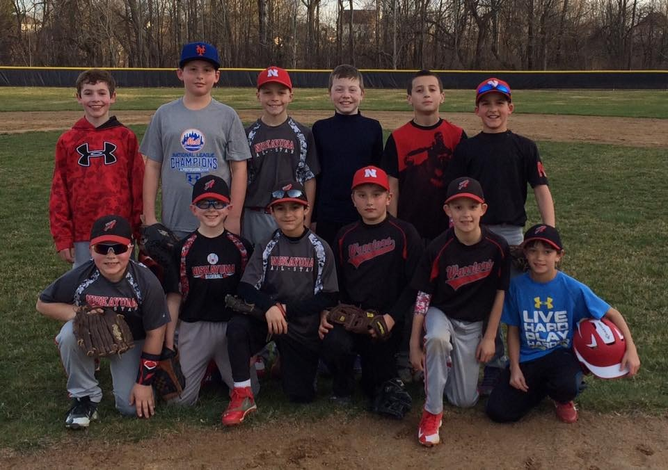 10u Niskayuna Warriors Baseball Adventure