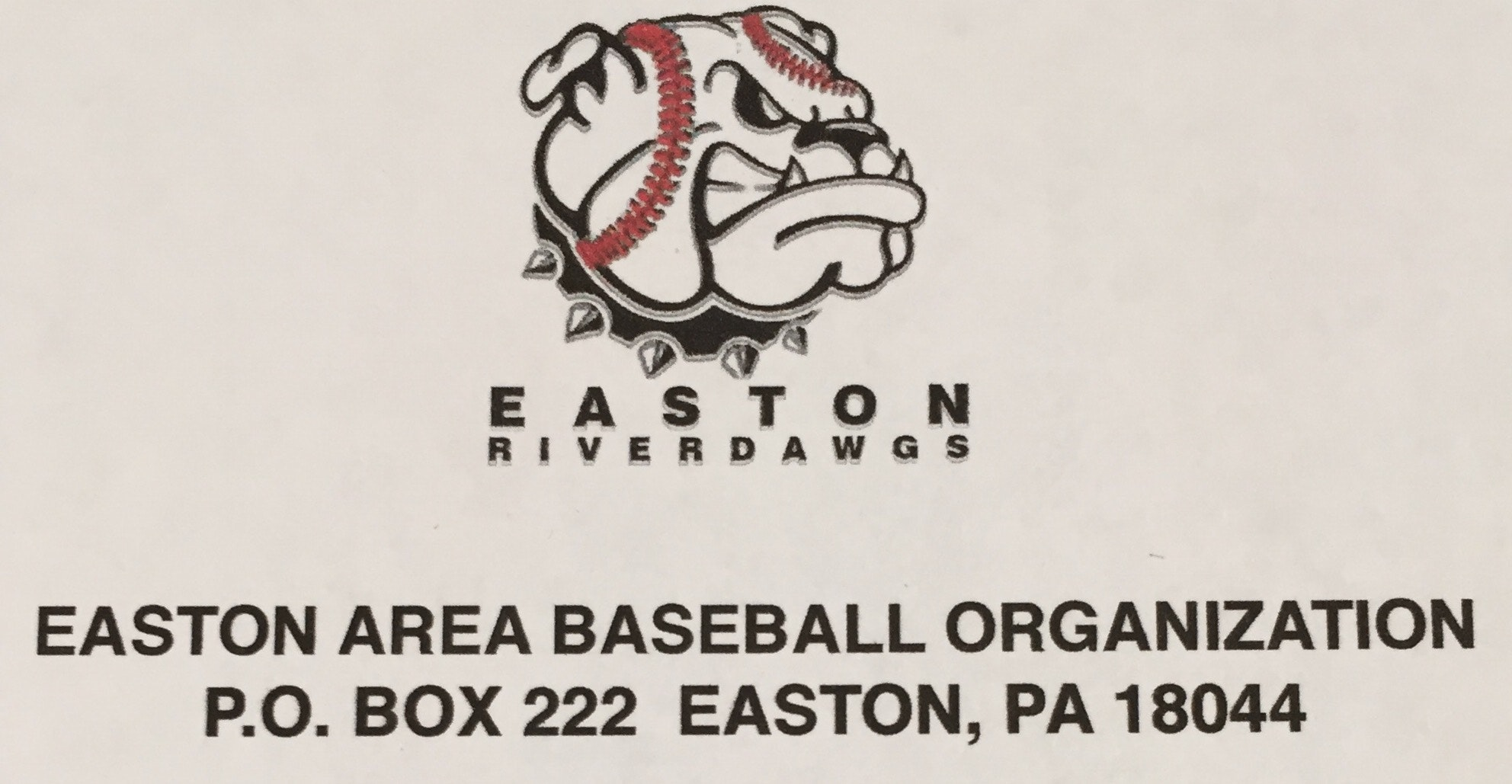 Easton Area Baseball Organization (RiverDawgs) Tournament Fundraiser