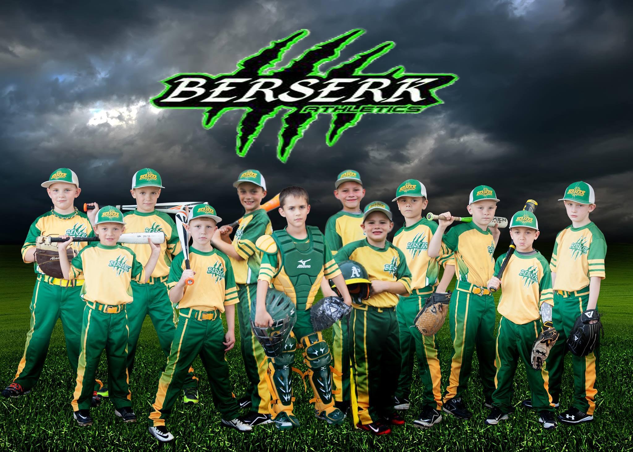 Berserk Athletics Baseball 8U