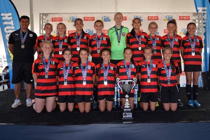 Hawks GU13 travel to Denver for regional Presidents Cup