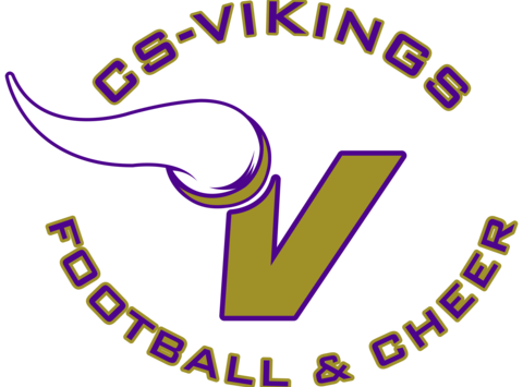 CS Vikings Football and Cheer