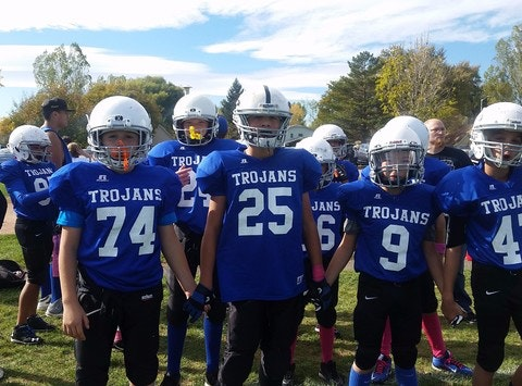 Jr. Trojans Summer football camp