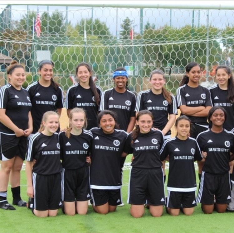SMC FC Lions Black 01 Girls