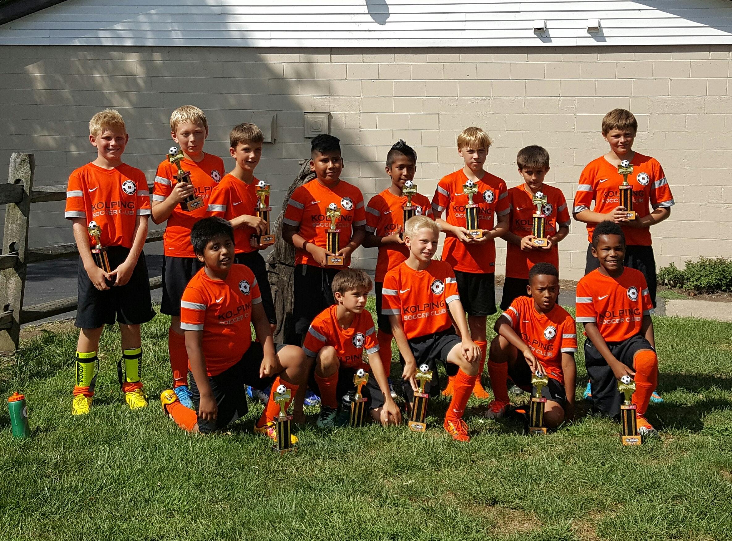 Kolping Crush Select Soccer Team