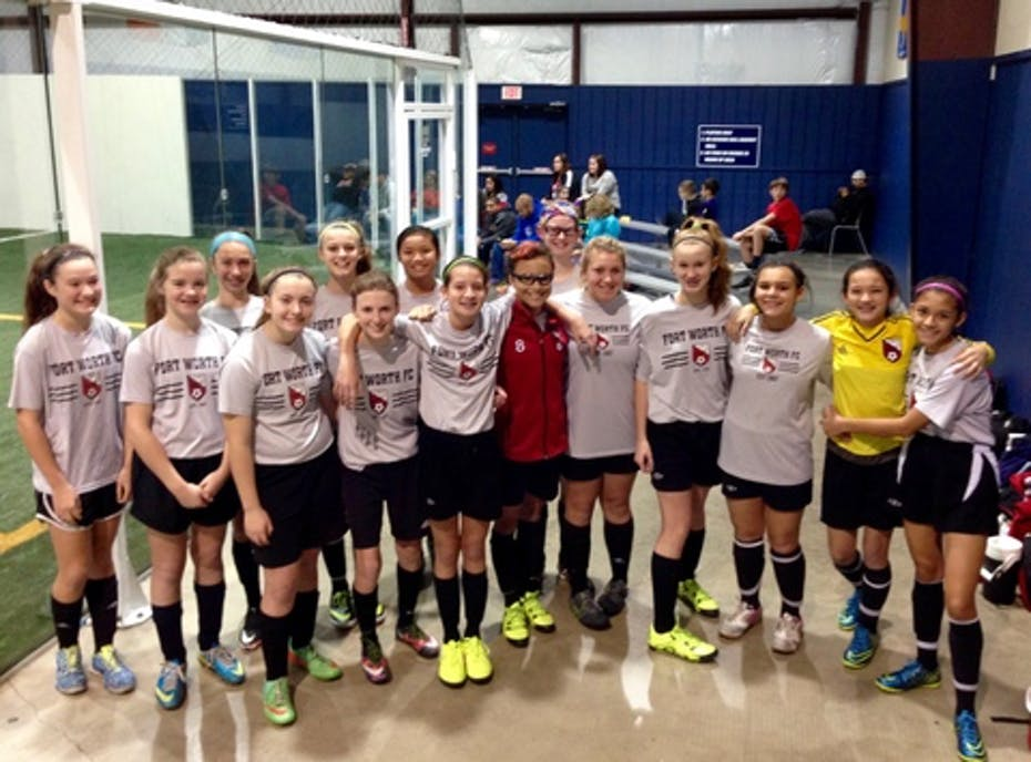 Fort Worth FC 03 Girls White