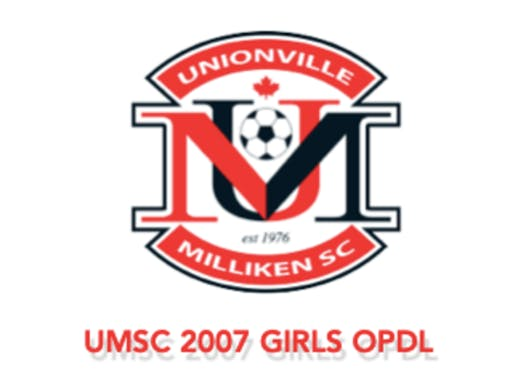 soccer fundraising - UMSC 2007 GIRLS OPDL