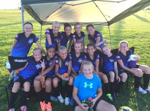 soccer fundraising - EliteFC Girls 03 Black Team