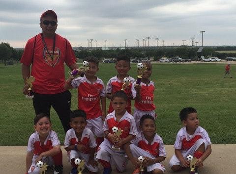 soccer fundraising - U5 Gunners