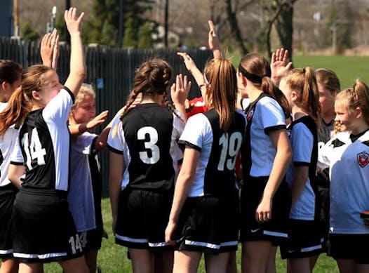 soccer fundraising - Firebirds U14 Girls Black