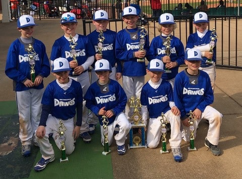Easton Diamond Dawgs 8U World Series 2016