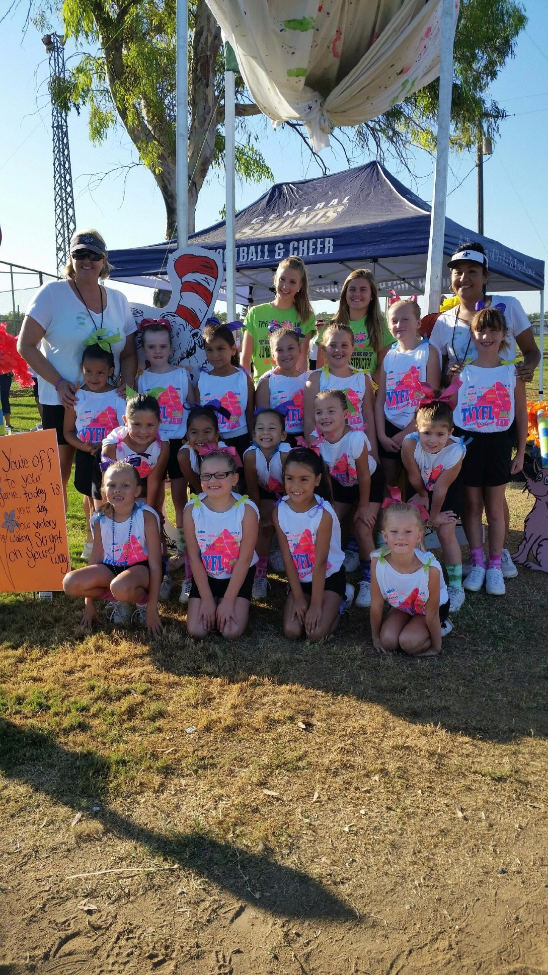 Central Saints Youth Football and Cheer