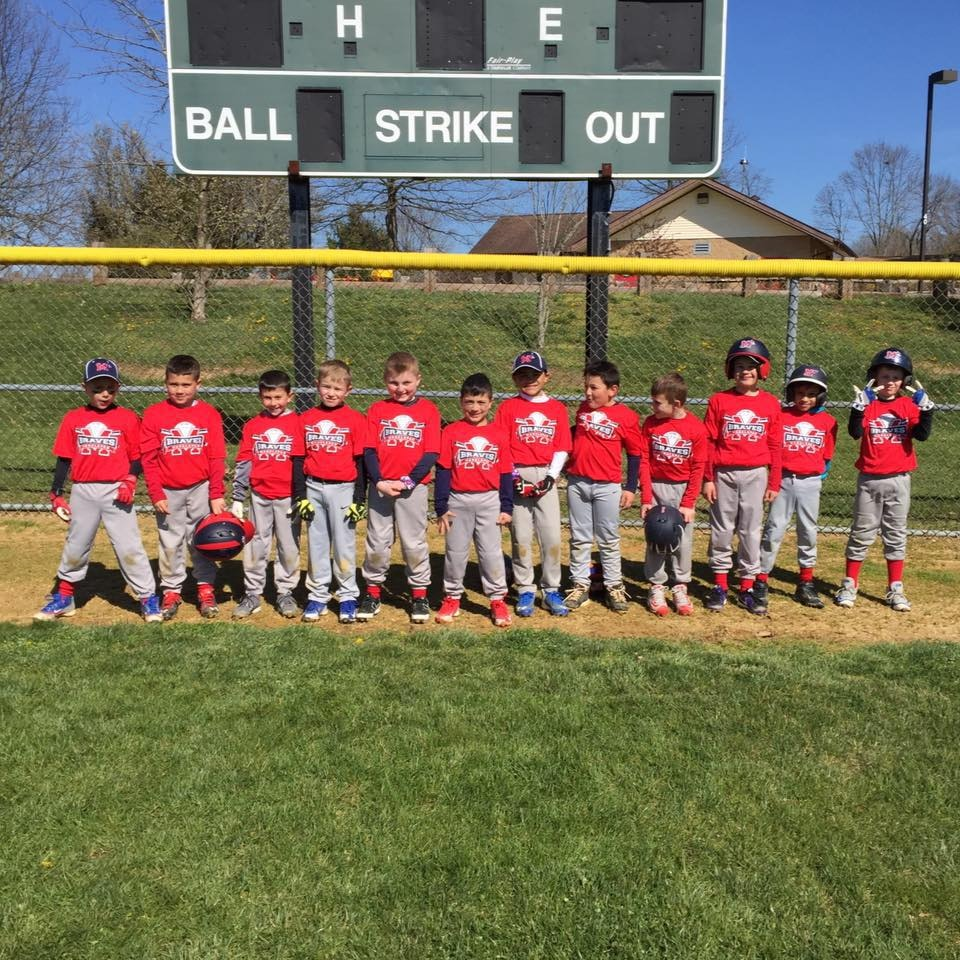 Manalapan Braves 7U Travel Baseball Team