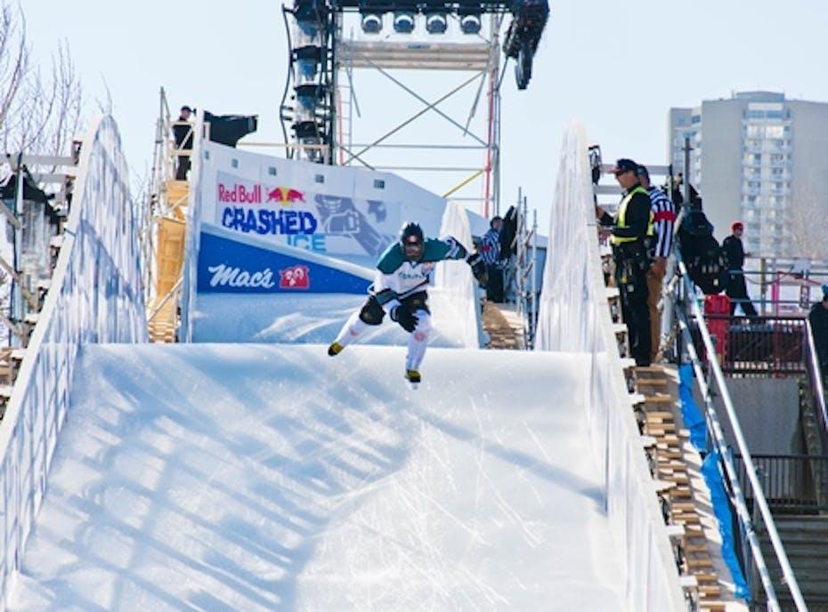 Oli Isaac - Ice Cross Downhill Athlete