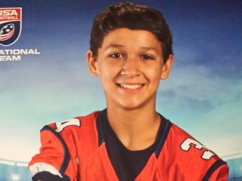 Luke's dream to play for the USA National Football Team