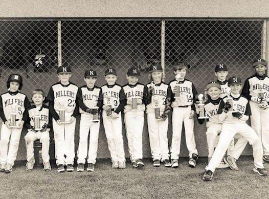 baseball fundraising - Noblesville Millers 10U Black