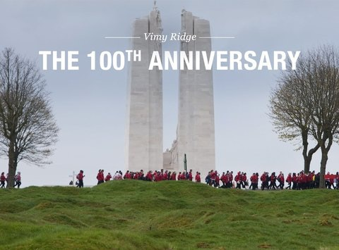 events & trips fundraising - Vimy Ridge 2017 Excursion
