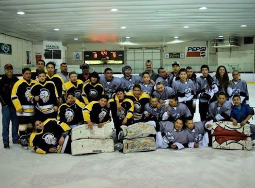 ice hockey fundraising - Salluit Amaruq Hockey Club