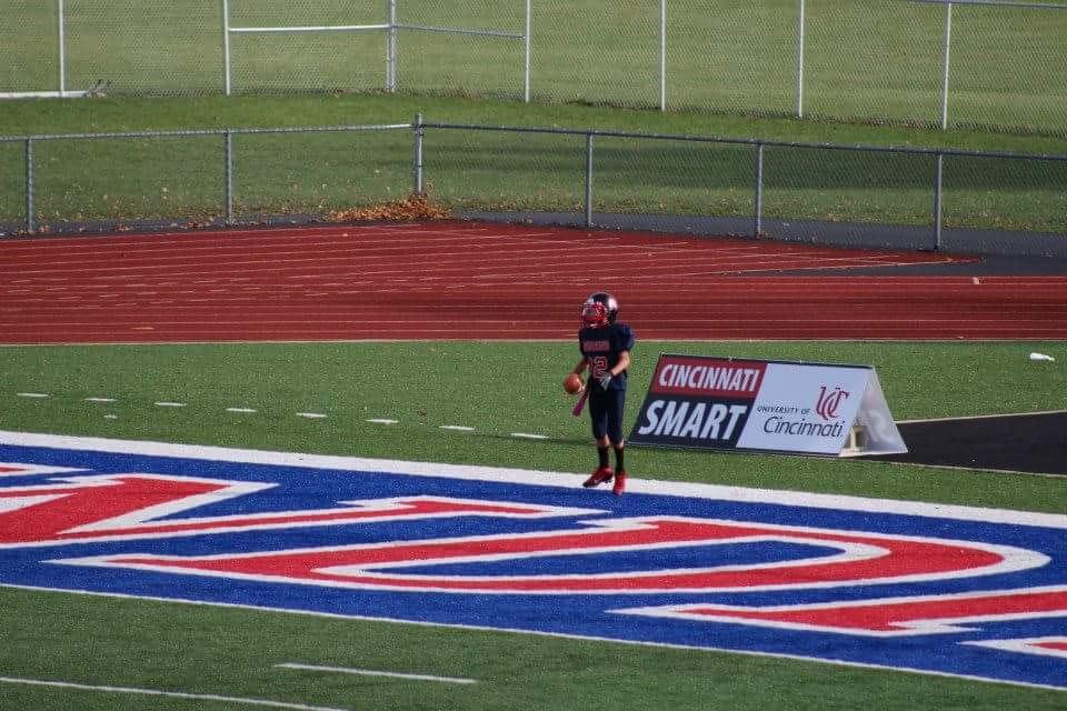 Jasiah Medley USA FOOTBALL CAMP