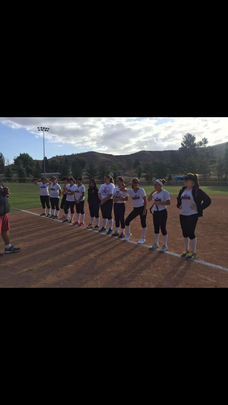 16U SCV Rampage Fastpitch Softball