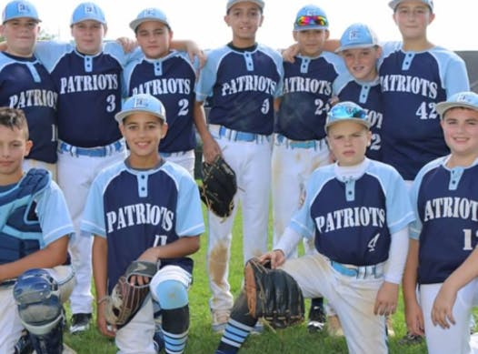 baseball fundraising - East Fishkill Patriots 12U Cooperstown