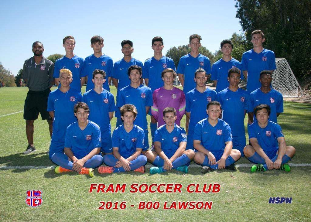 FRAM Lawson - BOYS 2000