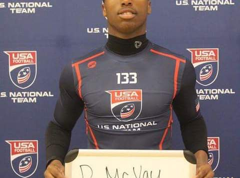 USA Football, Darius McVay