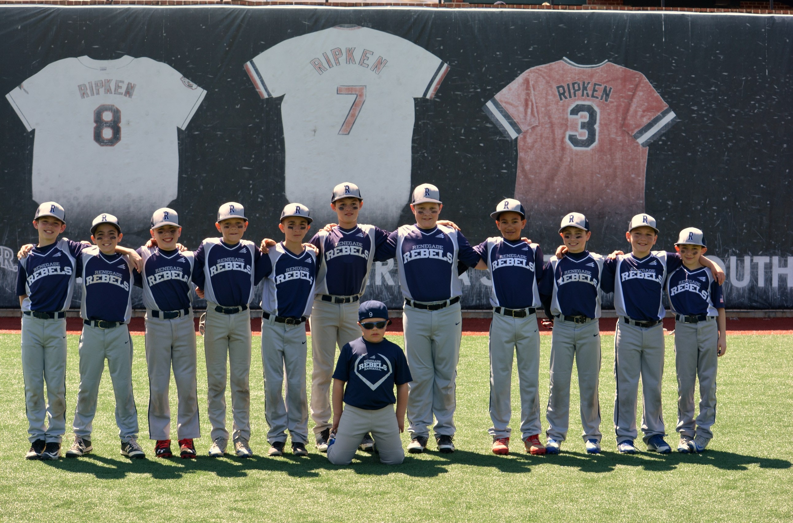 Renegade Rebels Baseball Team