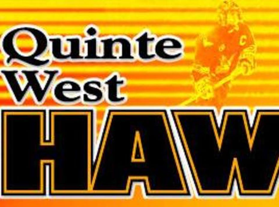 "2008 Quinte West Novice ""A"" Hawks"