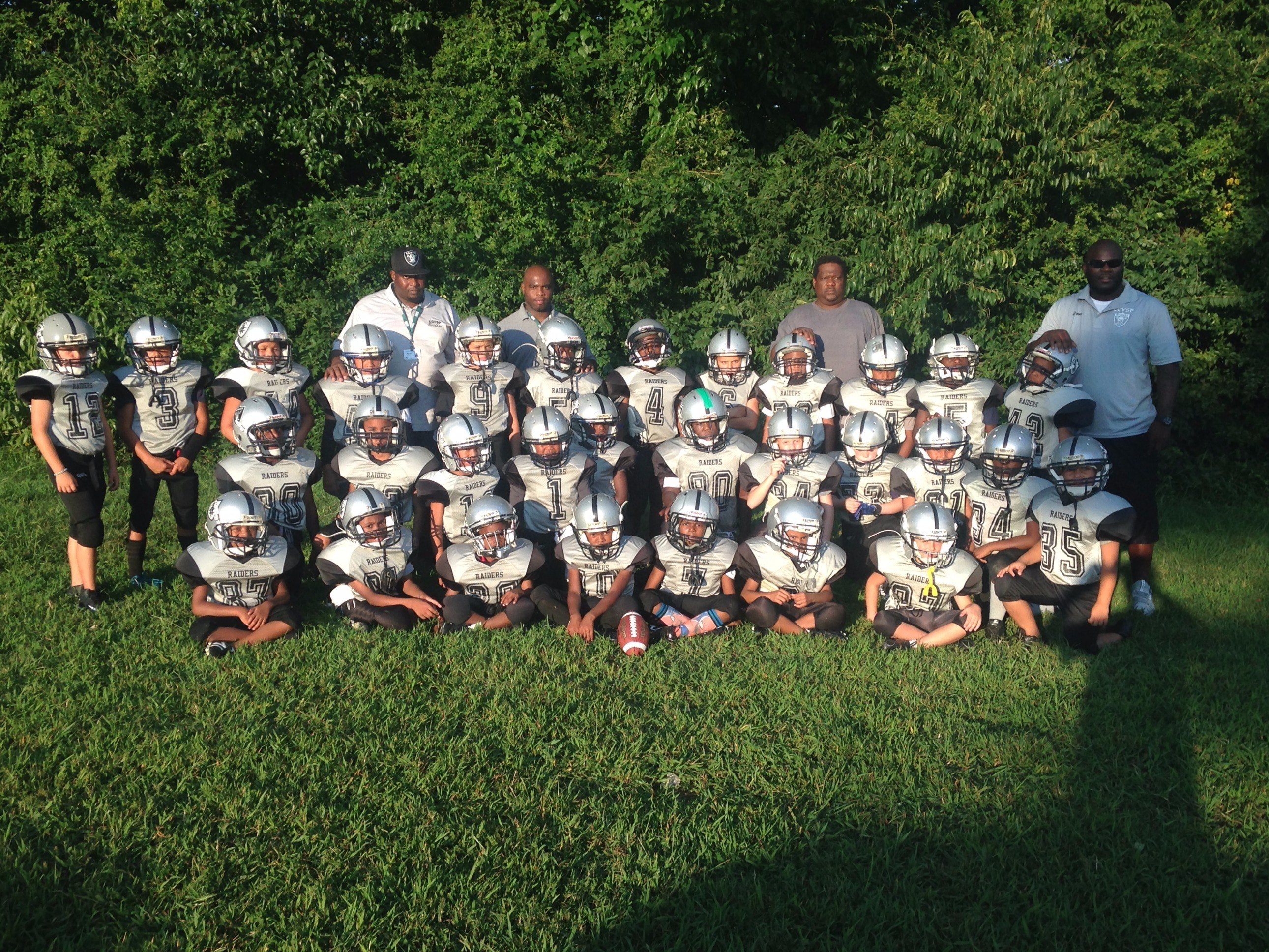 RAIDERS -CCYSP OF KNOXVILLE TN