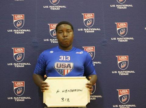 Antonio's Trip to USA Football Camp Ohio