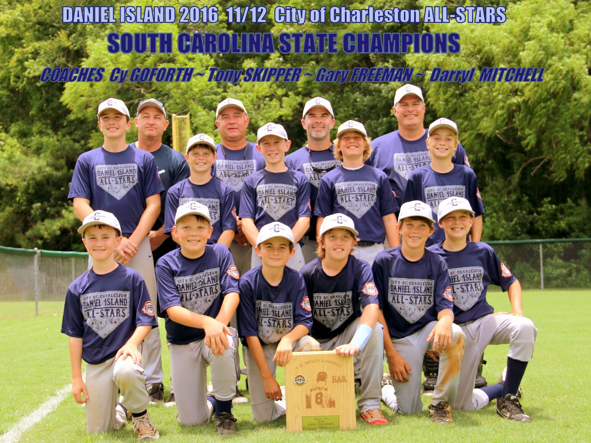DI /Charleston / SC Dogs All Stars 2016