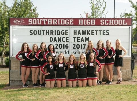 dance fundraising - Southridge Hawkettes Dance Team