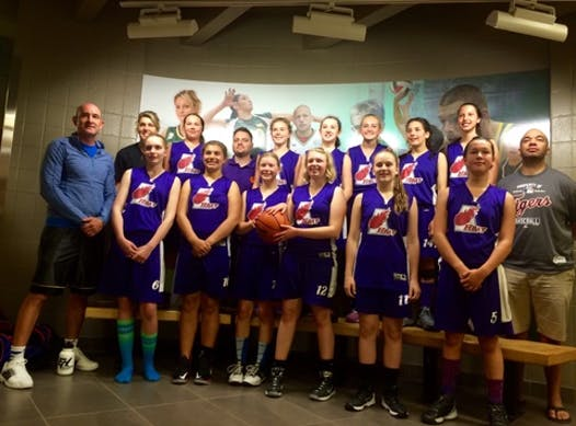 basketball fundraising - Regina Heat Basketball