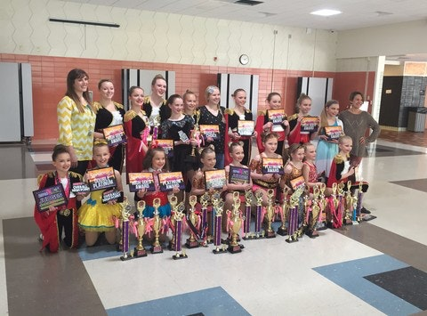 dance fundraising - Encore Dancers