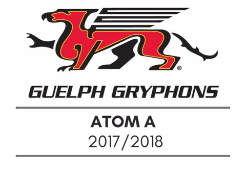 Guelph Jr Gryphons Atom A Hockey Team